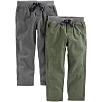 Simple Joys by Carter's Baby Boys' Toddler 2-Pack Pull On Pant