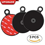 [3 Pack] Dashboard Pad Mounting Disk for Suction