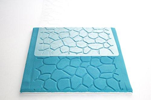 PME Cobblestone Design, Impression Mat, 12 x 6-inch