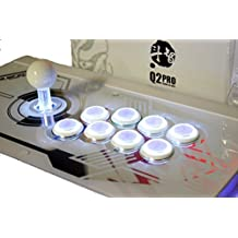 Qanba Q2 LED White Ps3/pc Arcade Joystick (Fightstick) by Qanba