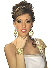 Gold Coin Earrings Costume