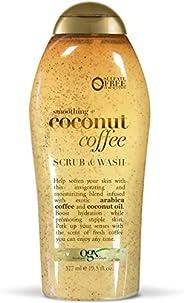 Ogx Coconut Coffee Body Scrub, 19.5 Oz