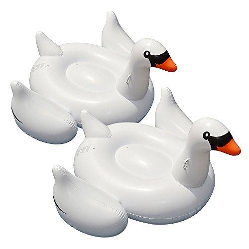 Swimline Giant Swan Float for Swimming Pools , Weiß by Swimline
