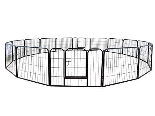 PetProgo Dog Fence Metal Playpen