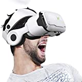 JUANDU 3D VR Headset, VR Headset with Gamepad and