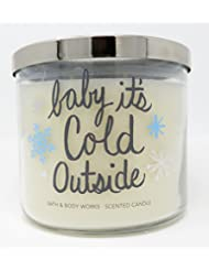 Bath & Body Works Candle 3 Wick 14.5 Ounce Fireside Baby It's Cold Outside