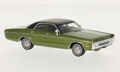 Dodge Polara Sedan, metallic-grün/schwarz 1972 Maßstab 1:43 - Resine - Fertigmodell Neo - Nr. 210275