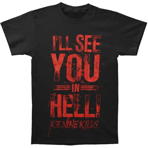 Ice Nine Kills Men's See You In Hell T-shirt Black