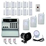 PiSector Wireless Home Security Alarm System Kit with Auto Dial S02
