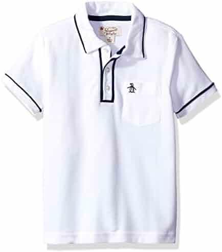 Penguin Boys' Earl Pique Polo Shirt