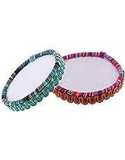 dailymall 2X National Style Beading Board Bead Mat Beading Tray for Jewelry Making DIY