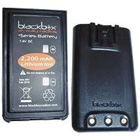 Blackbox+ battery 1300mAh Li-Ion battery.