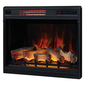 Amazon.com: Classic Flame 28″ 3D Electric Fireplace Insert 28II042FGL: Home & Kitchen