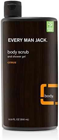 Every Man Jack Body Scrub, Citrus, 16.9 Fluid Ounce