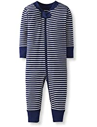 Baby/Toddler Boys' and Girls' One-Piece Organic Cotton Footless Pajamas