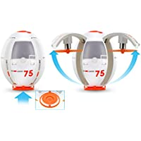 Tenergy TDR Eggsplorer RC Quadcopter Drone Transformable Flying Egg Rolling Stunt 2.4G Auto Hover