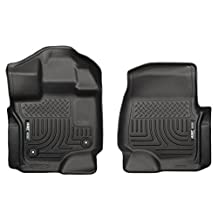 Husky Liners 18361 Weatherbeater Series Black Front Floor Liner