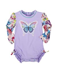 Hatley baby-girls Baby Baby Rash Guard