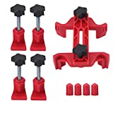 QISF Cam Clamp Set,9pcs Universal Car Auto Single or Dual Cam Camshaft Engine Timing Sprocket Gear Locking Tool Kit Cam Gear Clamp and Holder Set