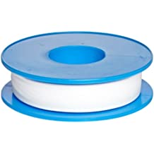 "Dixon Valve TTC50 PTFE Industrial Sealant Tape, -212 to 500 Degree F Temperature Range, 3.5mil Thick, 1296"" Length, 1/2"" Width, White"