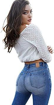 SEVEN ELEVEN Jeans Dama Corte Colombiano Levanta pompas 4111 STMO