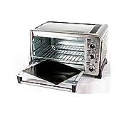 "Toaster Oven Liner Two-Pack 100% Non-Stick 11""Prevent Spillovers,Gunk&Odors!Great Teflon Liner for Toaster Ovens,Dishwasher S"