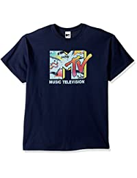 MTV mens Mtv Men's Retro Logo T-shirt