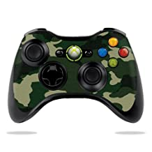 Protective Vinyl Skin Decal Cover for Microsoft Xbox 360 Controller wrap sticker skins Green Camo