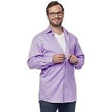 Silvert's Magnetic Buttons Adaptive Dress Shirt for Men - Great for Arthritis