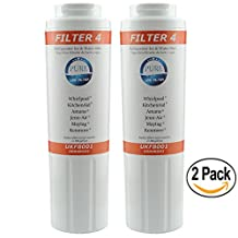 PureLife Filter 4 UKF8001 Refrigerator Ice&Water PREMIUM Replacement Filter Compatible with Maytag Whirlpool KitchenAid Jenn-Air Amana Kenmore| 2-Pack