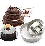 3 Tier Round Multilayer Anniversary Birthday Cake