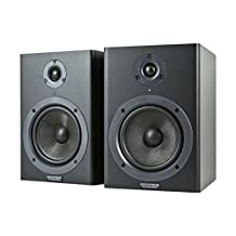 Monoprice 5-Inch Powered Studio Monitor Speakers, Pair (605500)