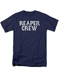 TV Show Reaper Crew Adult T-Shirt Tee