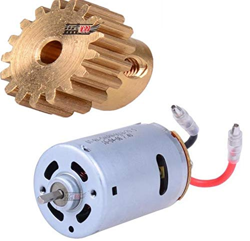 Laliva 12428 12423 RC Car Spare Parts 124280121 540 Motor +Gear