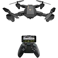 SGOTA RC Drone Foldable Flight Path FPV VR Wifi RC Quadcopter 2.4GHz 6-Axis Gyro Remote Control Drone with 720P HD 2MP Camera Drone