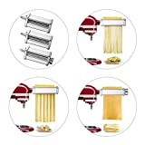 Pasta Maker Attachments Set fits KitchenAid Stand