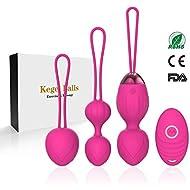 Jintrun 2 in 1 Kegel Exercise Weights & Massage Ball Ben Wa Balls Kegel Balls for Beginners & Pleasure - Doctor Recommended for Bladder Control & Pelvic Floor Exercises