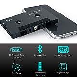 Car Audio Receiver, Bluetooth Cassette Receiver
