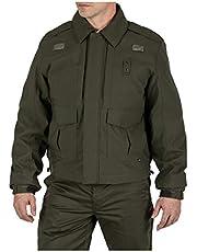5.11 Tactical Men's 4-in-1 Patrol Jacket 2.0, Waterproof, BBP-Resistant, Quixip System, Style 48359