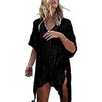 jeasona de la mujer traje de baño Cover Up Playa Bikini Traje De Baño Swimwear ganchillo vestido