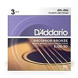 D'Addario EJ26 Phosphor Bronze Acoustic Guitar