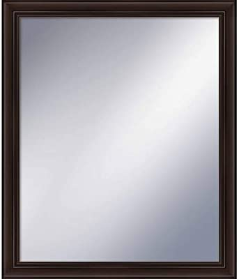 PTM Images 5-1249 24 Inch x 20 Inch Rectangular Framed Mirror, Espresso