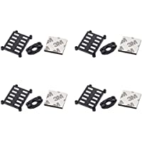 4 x Quantity of Walkera Rodeo 150 150-Z-06(B) Support Block Black