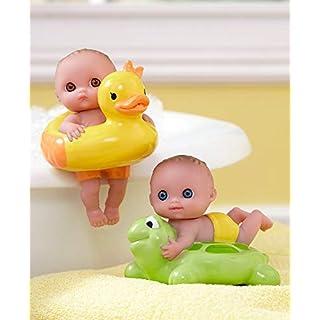 Set of 2 Lil' Cutesies Floating Bath Dolls