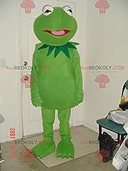 REDBROKOLY Mascot of the famous green frog Kermit