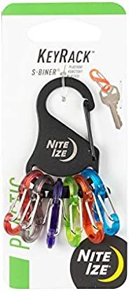 Nite Ize KRK-03-01 KeyRack Key Holder with S-Biners