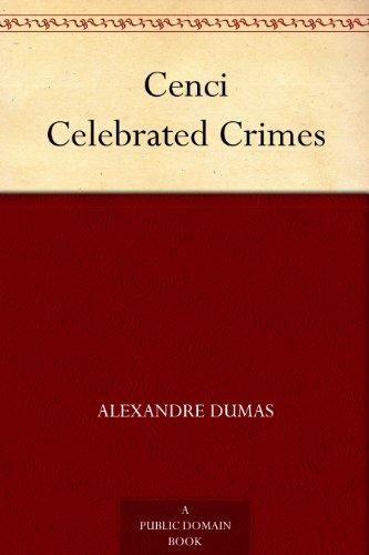 Cenci Celebrated Crimes