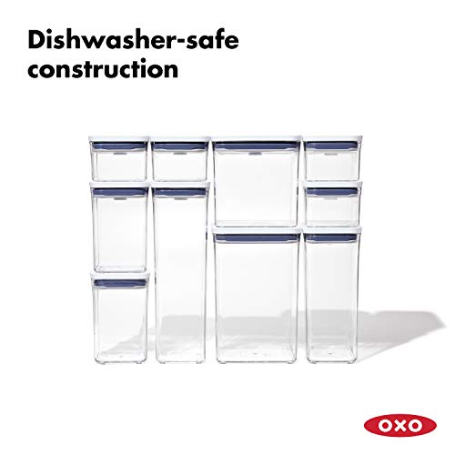 NEW OXO Good Grips 10-Piece POP Container Set
