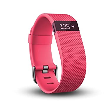 Fitbit Charge HR, Pink, Small