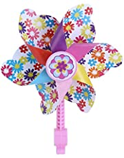 BESPORTBLE Children Bike Handlebar Flower Pinwheel Windmill Decoration for Kid's Scooter